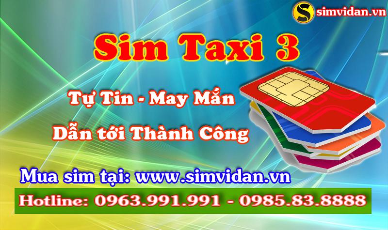 tại sao sim taxi 3 lại cuốn hút người kinh doanh đến vậy
