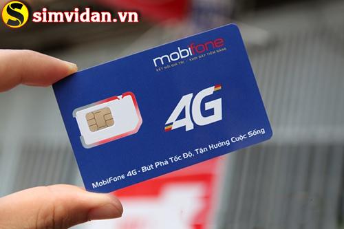 Gói cước 4G giá rẻ dung lượng lớn của Mobifone
